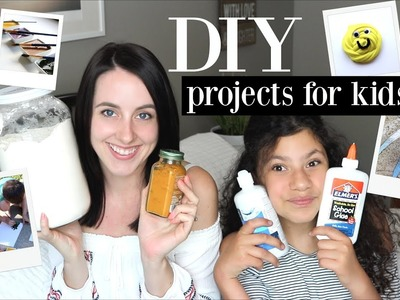 Fun DIY Craft Projects for Kids -Chalk Paint, Slime, Nature Paint ♡ NaturallyThriftyMom