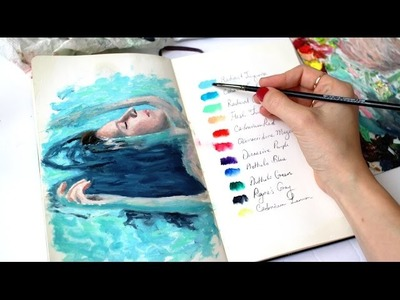 How I Developed My Art Style | Sketchbook Sunday #30