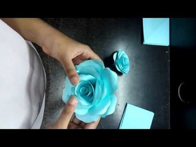 How to do paperwork flowers craft(2)