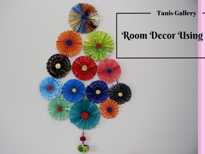 How to Make a DIY Amazing Room Decor Using Paper | paper craft ideas for decoration step by step