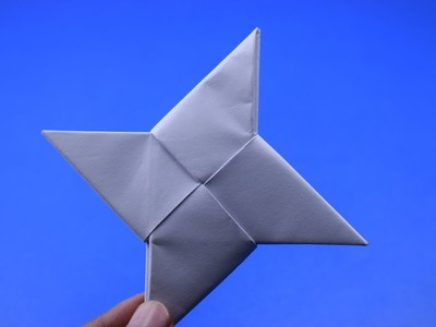 How To Make a Paper Ninja star | DIY CRAFT IDEAS|