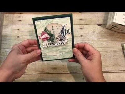 How to make a Seaside Shores Shaker Card!