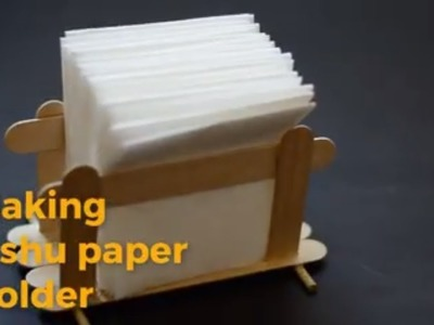 How to make a tissue paper holder |Easy Diy Craft|