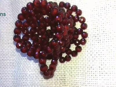How to make beads cup (design 1)||putir kaj||Diy craft beaded
