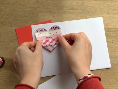How to make personalised greeting cards with Brother's P-touch Craft Ribbon & Label Printer
