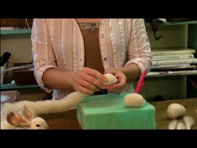 How To Needle Felt - Knot to Egg.Ball: Sarafina Fiber Art Episode 5