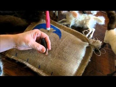 How to Needle Felt:  Sheep and Lamb 2 by Sarafina Fiber Art
