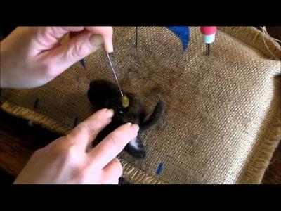 How to Needle Felt:  Sheep and Lamb 3 by Sarafina Fiber Art