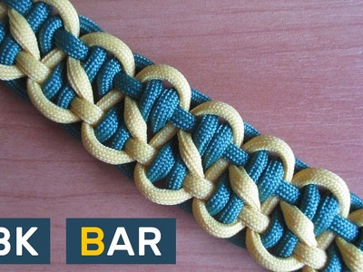 How to Tie a KBK Bar Paracord Bracelet without buckle