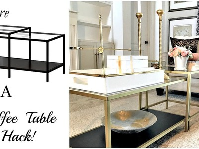IKEA Hack | $59 Vittsjo Coffee Table
