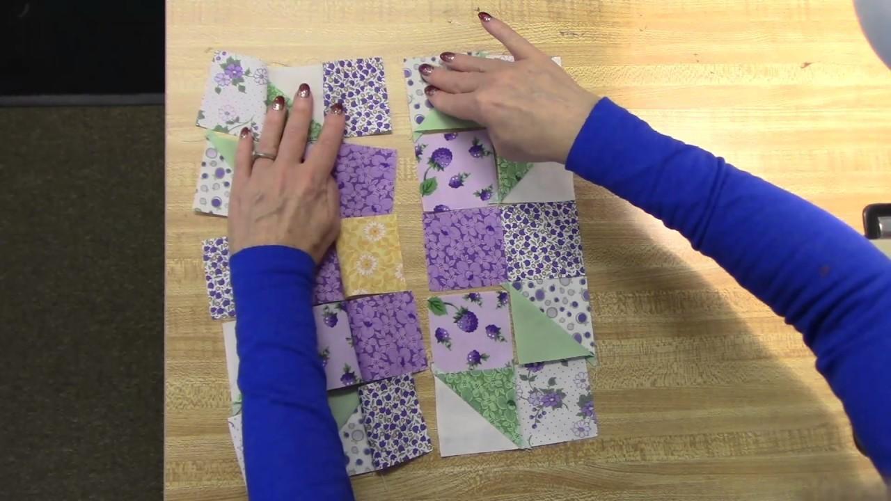 Jordan Fabrics Making A Sisters Choice Table Runner
