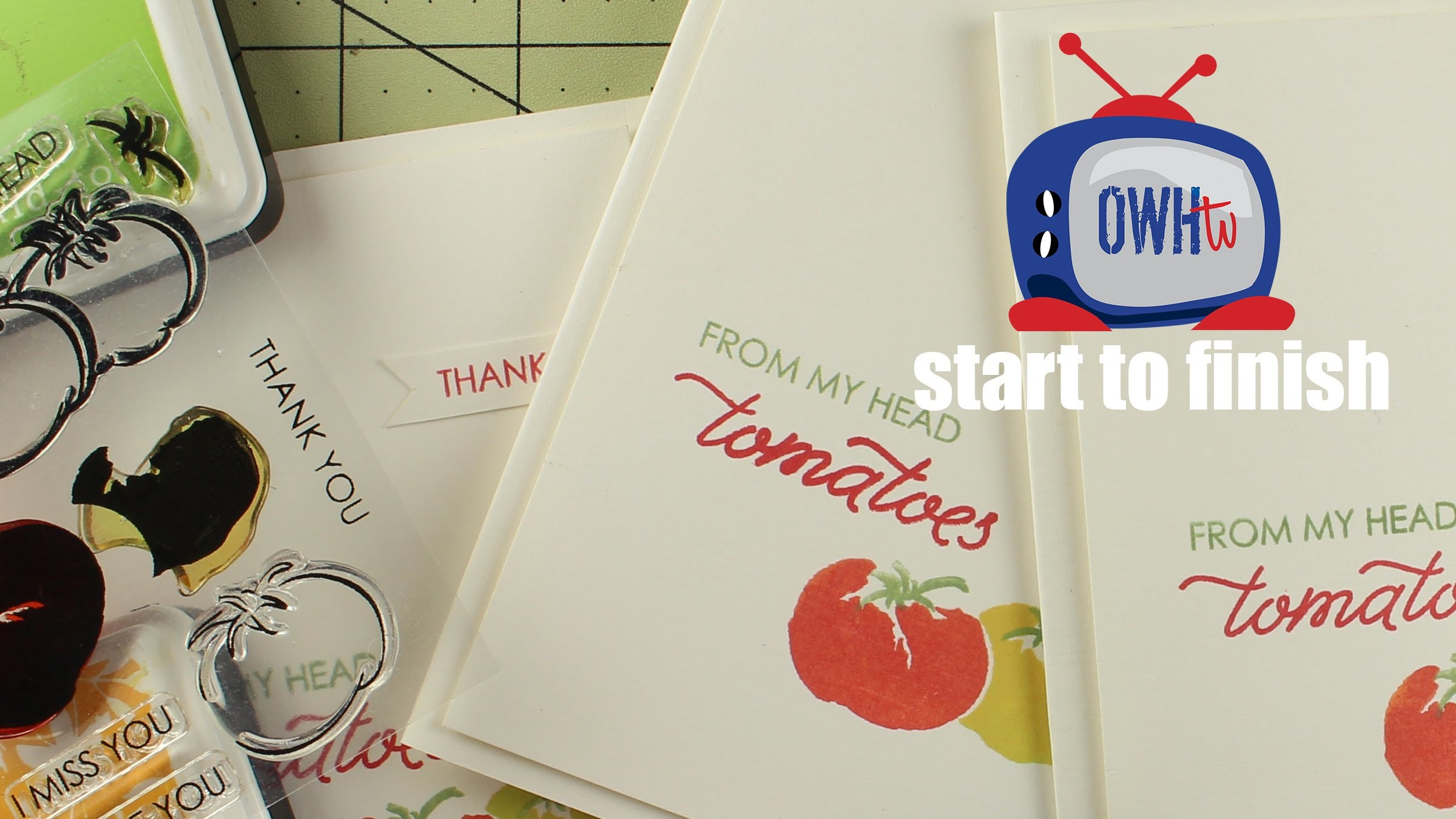 how to make thank you cards at home