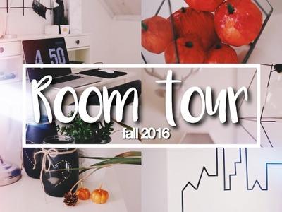 MY FALL TUMBLR ROOM TOUR 2016!