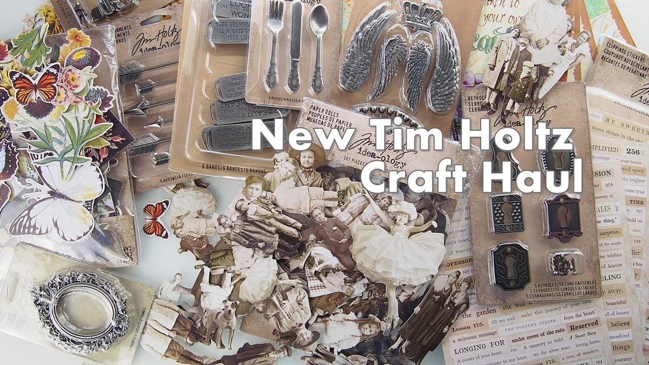 New Tim Holtz Craft Haul ♡ Maremi's Small Art ♡