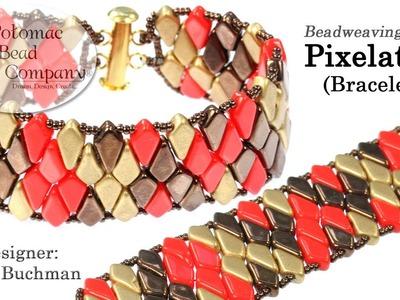 Pixelated Bracelet (DIY Tutorial)