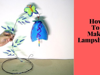 Recycled Craft Ideas   How to Make Lampshade From Plastic 7Up Bottles   Best Out of Waste Projects