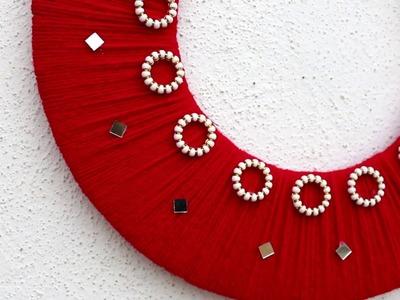 Room Decoration Style || DIY Wall Decoration idea || Woolen carfts