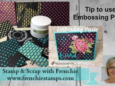 Stampin'Up! Embossing Paste