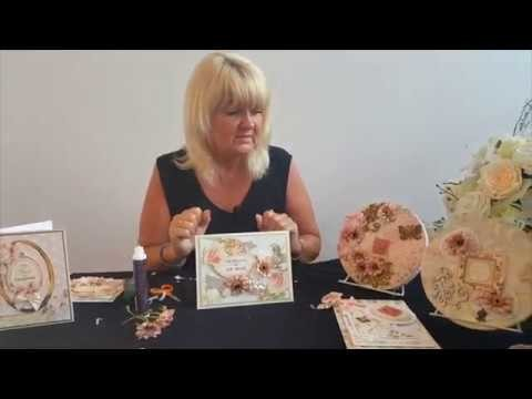 "Tutorial: Making a Card with the ""Craft Treasure Chest"" by Dawn Bibby Creations"