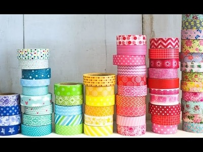 5 Minute DIY    Washi Tape Craft   Room Decor Idea