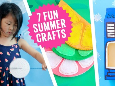 7 must-try summer craft ideas