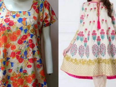 A Line kurti DIY | A-Line kurti.kameez drafting, cutting and stitching step by step tutorial