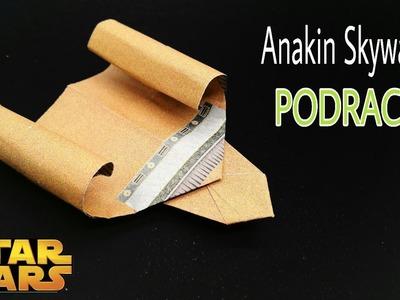 Anakin Skywalker's Podracer (STAR WARS) - DIY | Origami | Tutorial| How to make - 762