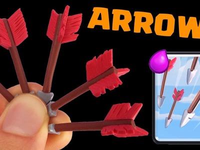 Arrows (Clash Royale) - DIY Miniature Fimo Polymer Clay Tutorial