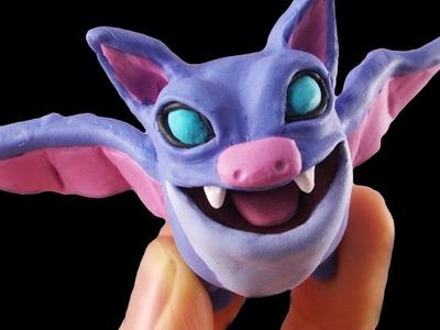 Bats Card - DIY Polymer Clay Tutorial (Clash Royale)