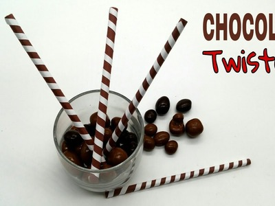 Chocolate Twisters - DIY Tutorial by Paper Folds for Beginners - 749