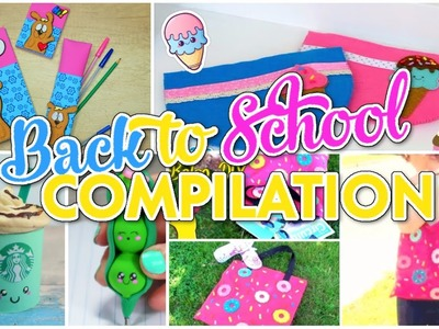 DIY Back To School Supplies You Need To Try! CRAFTS COMPILATION