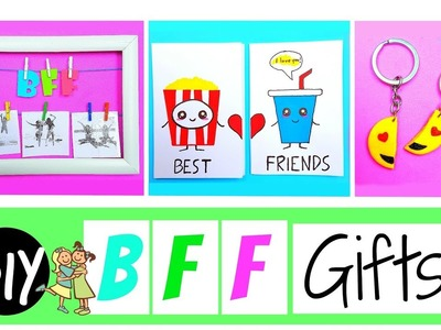 DIY BFF GIFT IDEAS (Part II) - Three Cute & Easy Crafts!