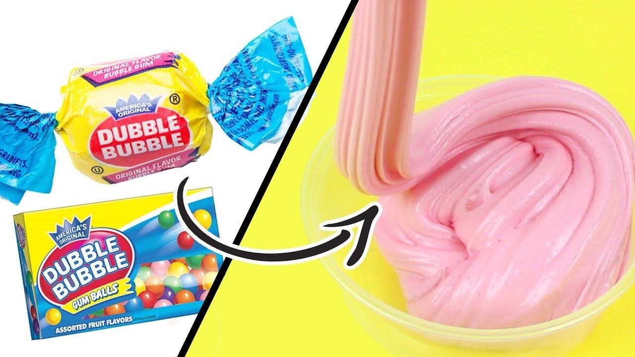 DIY | Bubblegum Slime - HOW TO MAKE BUBBLEGUM SLIME!!! EASY SLIME RECIPE!!!