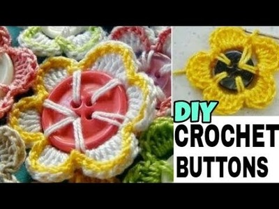 DIY|Crochet Buttons (Easy and Simple)|Homemade Easy Buttons|Beautiful Crochet Buttons|Beautiful You