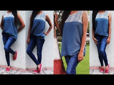 DIY Designer Lace Top Cutting And Stitching full Tutorial
