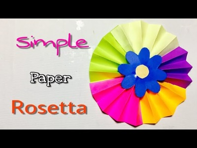 DIY : Easy home decor idea ????, Rosetta making tutorial