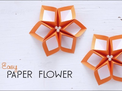 DIY Easy Paper Flower