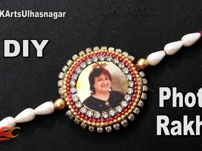 DIY Easy Photo Rakhi for Raksha Bandhan | How to make Rakhi | JK Arts 1262