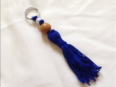 Diy Easy Tassel keychain From Thread | diy gift | Diy bag hanger |How to make Easy key chain at home