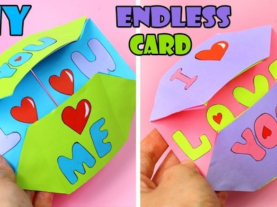 DIY ENDLESS GIFT CARD EASY TUTORIAL & NEVER ENDING CARD