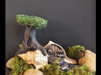 DIY Fairy House and Fairy Garden Tutorial