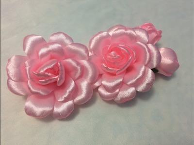 DIY flower headband tutorial, flower crown super easy rose
