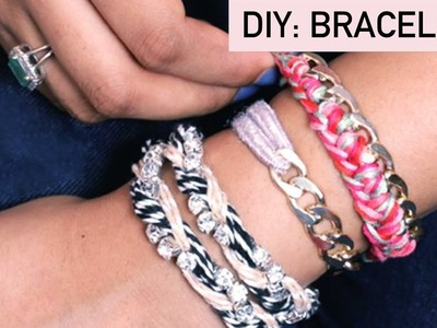 DIY Friendship Bracelets - EASY Tutorial for Friendship Day 2017 | Gift Ideas & Hacks