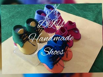 DIY handmade foam sheet shoes.tutorial