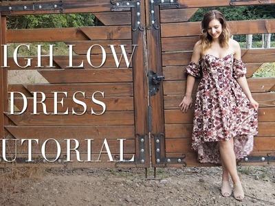 DIY | High Low Dress | Boning Tutorial | Szilvia Bodi