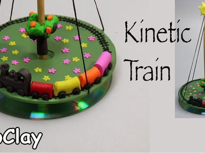 DIY Kinetic train - Polymer clay tutorial