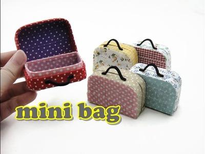 DIY Mini Doll Accessories Bag. Paper Craft