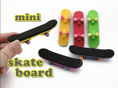 DIY Mini Doll Accessories Skateboard