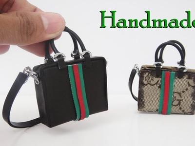 DIY Miniature Realistic  Bags #2  - Handmade Dollhouse