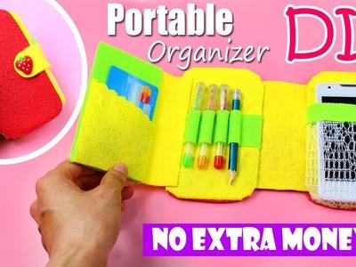DIY ORGANIZER & PHONE CASE & PENCIL CASE   COMPACT IDEA